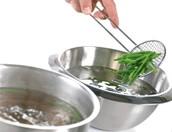 Deelopdracht 9: Menu met kkokprincipes en technieken waarbij water een heel belangrijke rol speelt.