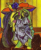 """Pablo Picasso's """"Weeping Woman"""""""