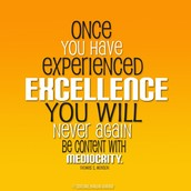 Virtue of the Week - Excellence