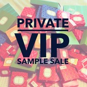 VIP Sample Sale Time