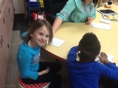 Sight words sentences with Mrs. Martin.