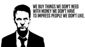 Fight Club on Consumerism