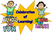 Celebration of Learning - At Home!