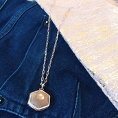 Rose Gold Tee with Rose Gold Jewels!
