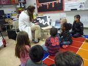 We used x-rays to study anatomy