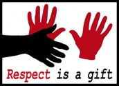 respect is a gift