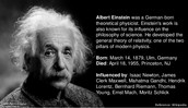 famous for the theory of relativity