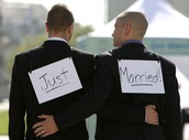 Two Men Just Married