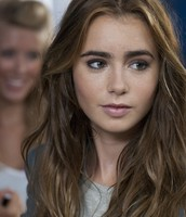 Mortal Instrument's Lily Collins as Lena Haloway
