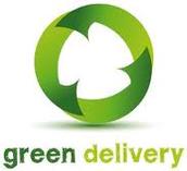 """investeren in """"groene"""" bezorging"""