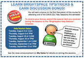 Attend a Brightspace Training Session