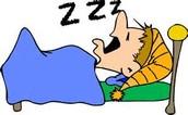 Debes dormir.