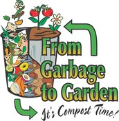 throw the food to the compost!