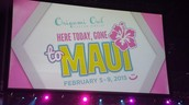 HERE TODAY, GONE TO MAUI!!