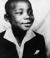 King as a child