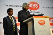 Dr. APJ Abdul Kalam addressing the students