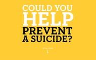 prevent a suicide..