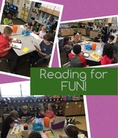Free Reading which means we can read any book just for fun!