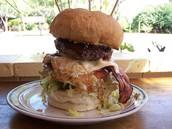 Ian's Heart attack burger