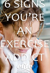 I chose this topic because I'm  interested in what causes people to be addicted to exercising and I also want to find out how common this addiction is.