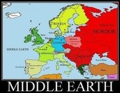 Middle Earth in Europe
