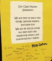 Mrs. Conn's Class Mission Statement