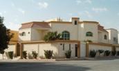 This is what Saudi Arabian houses look like.