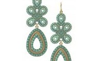 Capri Chandelier Earrings - Turquoise