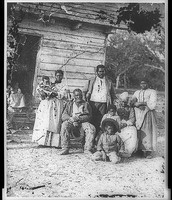 Typical Slave Family in the South