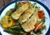Chicken and vegetable