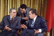Leonid I. Brezhnev & Premier Aleksei Kosygin