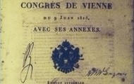 Frontispiece of the Acts of the Congress of Vienna