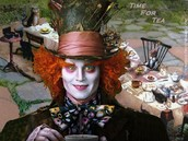 The Madhatter from Alice in Wonderland
