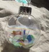 Seashell/Beach Sand Ornaments