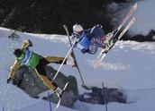 Multi Skier Collision