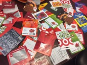 Gift Cards from the PHS Community!
