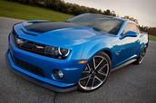 Signature Blue Camaro