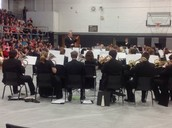 The Central Methodist Band returned to CBMS recently as part of their spring tour.