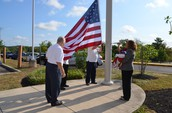Flag Donated to High School by Patriotic Order Sons of America