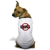 say to to drugs dog clothes