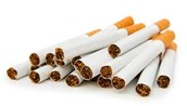 Chemicals in cigarettes.