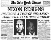 Watergate, Impeachment, and Ultimate Resignation