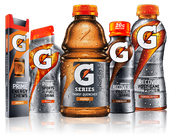New different styles of gatorade