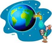 Tu ed Io siamo responsabili per prendersi cura di acqua, aiutano a proteggere la nostra terra.