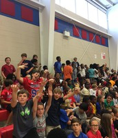 C5 loved the Pep rally!