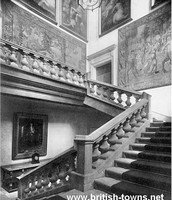 The Grand staircase in 1950.
