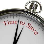 Saves you time
