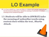 "Learning Objectives (LO) the ""Soto Way"""