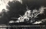 The Pearl Harbor attack.