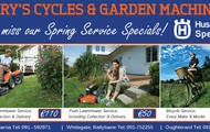 Garry's Cycles & Garden Machinery Spring Specials